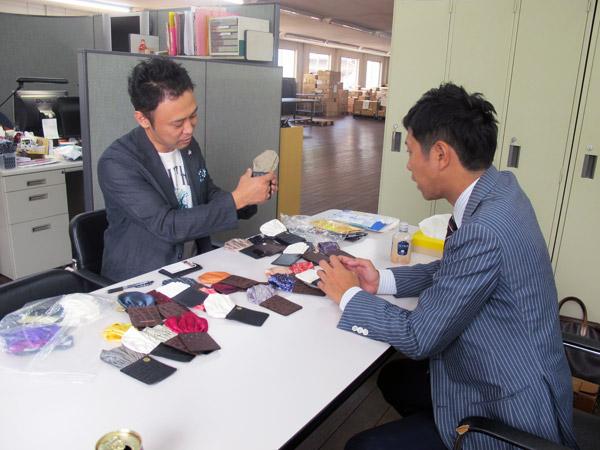 クラッカー川人氏とFIXPON JAPANの川口さん